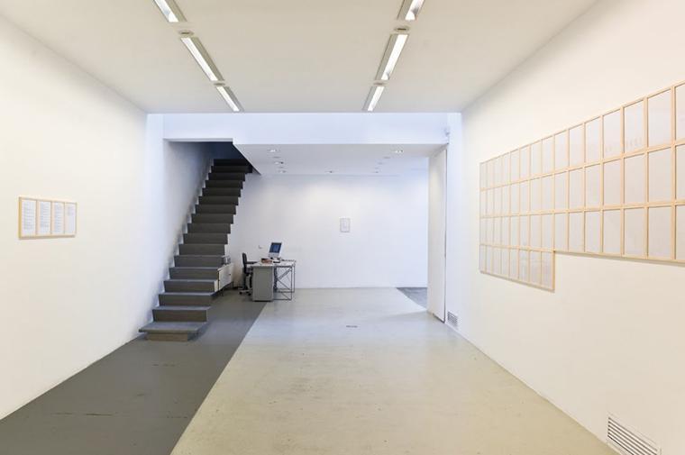 Galeria de arte, Art Gallery, Nogueras Blanchard, Barcelona© Circular Studio
