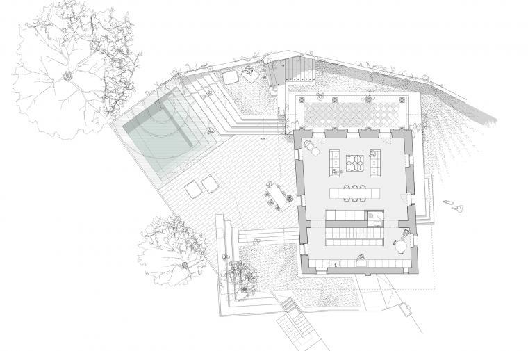 #swissarchitecture #lerocher #renovation @circular_studio © Circular Studio