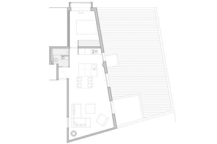 apartment, loft, casa, house, Barcelona © Circular Studio