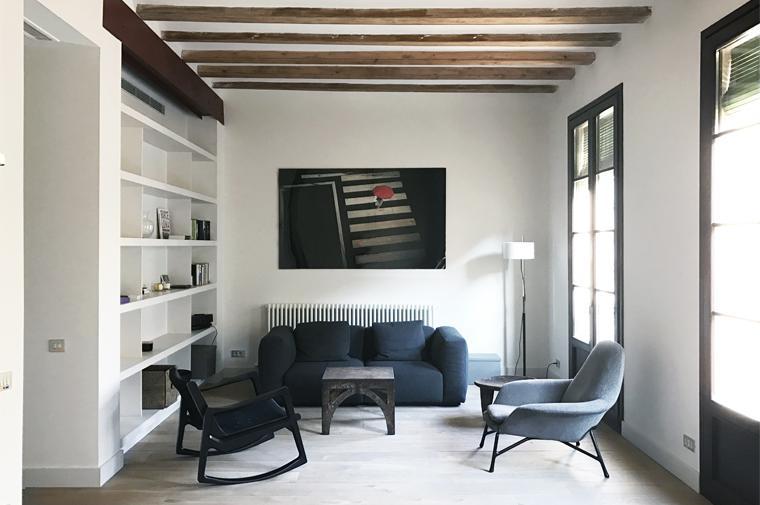 #Apartment #design #Barcelona @circular_studio www.circular-studio.com